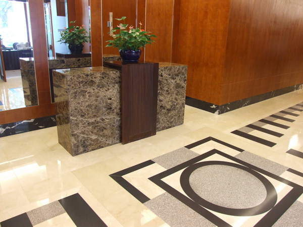 Commercial Building Marble Stone Tiles