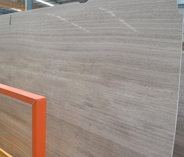 Wooden Grey Light Marble Slabs