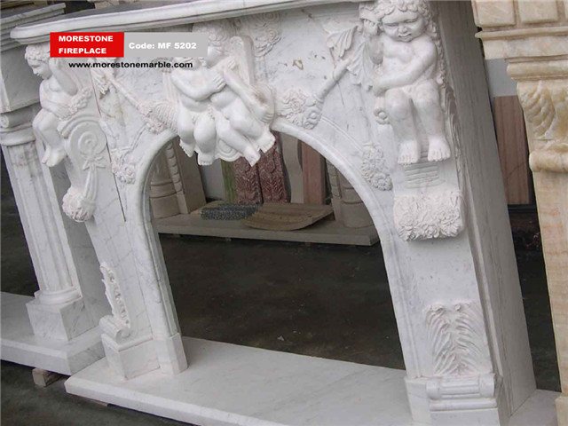 Marble Fireplace Mantel Code MF5202