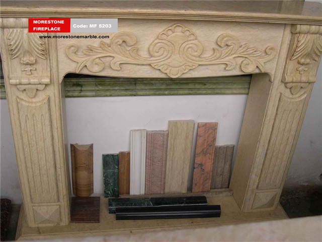 Marble Fireplace Mantel Code MF5203