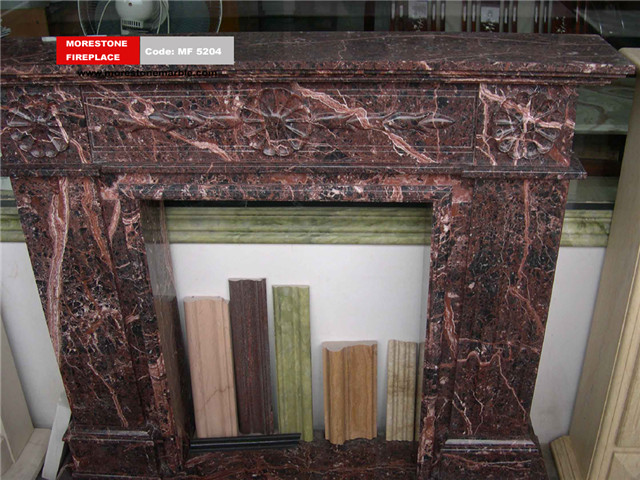 Marble Fireplace Mantel Code MF5204