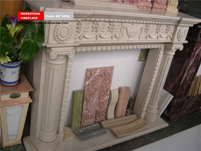 Marble Fireplace Mantel Code MF5205