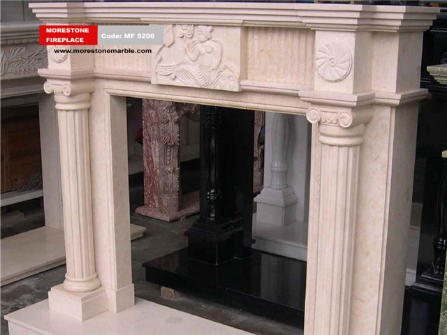 Marble Fireplace Mantel Code MF5206