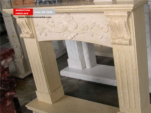Marble Fireplace Mantel Code MF5209