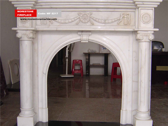 Marble Fireplace Mantel Code MF5217