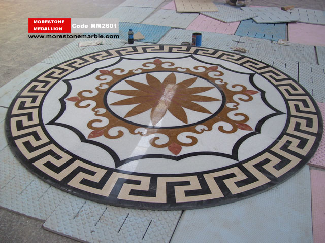 Marble Medallion Flooring MM2601