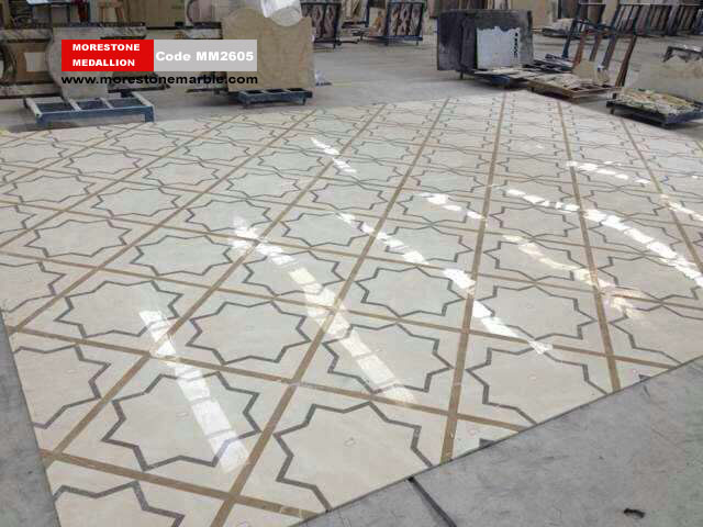 Marble Medallion Flooring MM2605