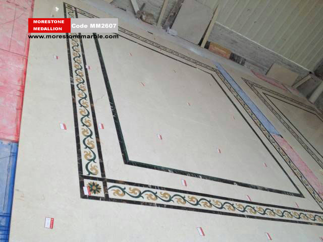 Marble Medallion Flooring MM2607
