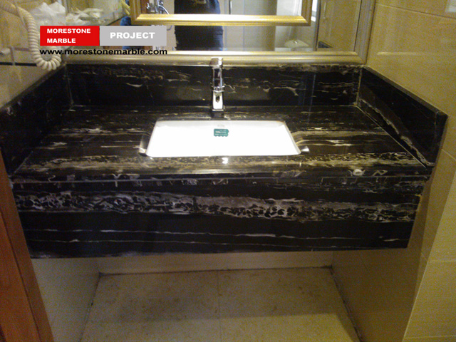 Silver Dragon Marble Bathroom Vanitytop